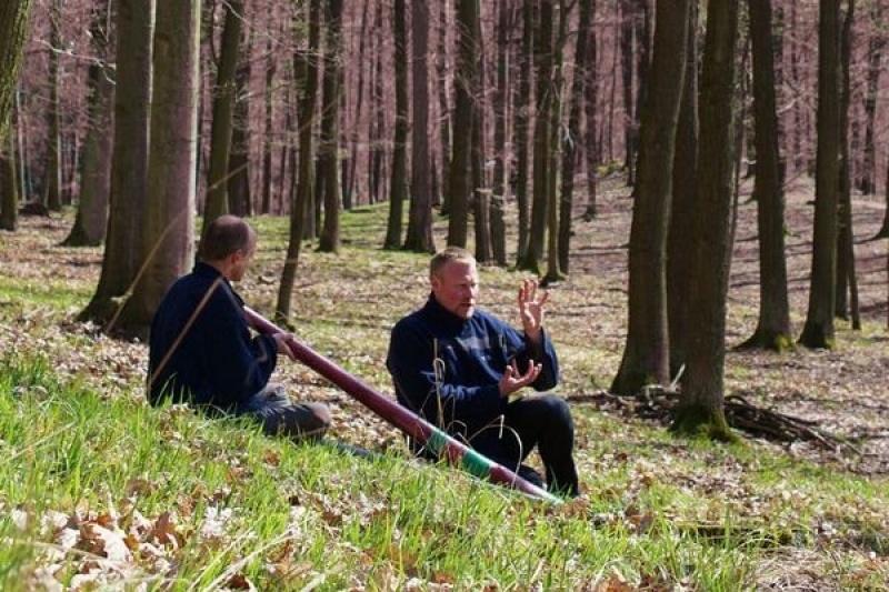 Zdenek Vilímek - výuka hry na didgeridoo